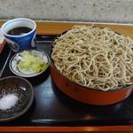 清川 - 1日10食限定そば「十割せいろそば」850円
