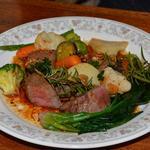 パルミエ - 料理写真:牛ヒレ肉の香草ガーリック