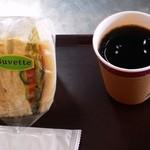 カフェ ラ ブヴェット - サンドイッチセット