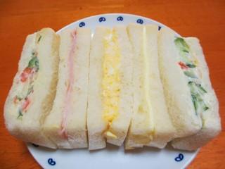 深町製パン - ミックスサンド¥270