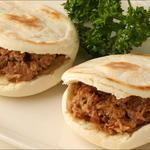 唐朝刀削麺 - 西安のミニ焼きバーガー。中国人に大人気。