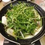 三四郎 - きりたんぽ鍋