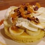 イリヤプラスカフェ - ハミングバード・パンケーキ 750円