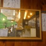 17165051 - これも同じお客さんがが作られた                       店内を立体化させた額縁です♪                              凄いの一言です♪