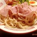 肉ばかラーメン なおじ - 2013/02/04 つけ麺の麺