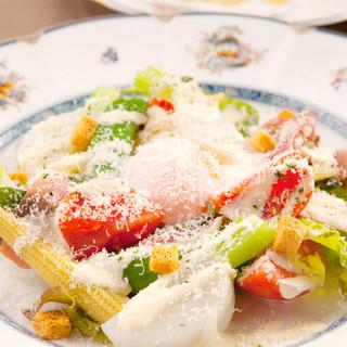 素材のうま味をそのままに、新感覚のイタリア料理を堪能