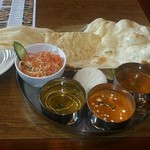 インド料理 夢や - ランチBセット+カレー一種