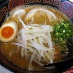 くるめラーメン - 味噌らーめん餃子セット(味噌らーめん)