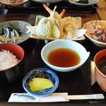 平野鮮魚 - 2009年6月天ぷら定食