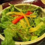 17170835 - ドレッシングはさっぱり。シャキシャキの野菜を味わえました。