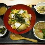 Matsukichi - かき丼セット1,575円