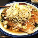 麻布十番 - 醤油チャーシュー麺