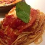 17172508 - マスカルポーネチーズのトマトソース
