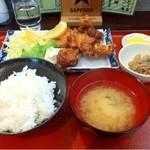 エランドール - ザンギ定食550円
