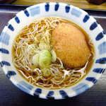 17172848 - コロッケそば(¥300)コロッケは柔らかめ、麺は細くてつるつる上品
