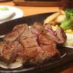 ステーキ宮 - さっぱりしたヒレ肉で加圧トレ後のたんぱく質補給!