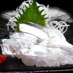 ままや - 太刀魚の刺身