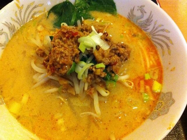 中国料理 興龍飯店 - 坦々麺