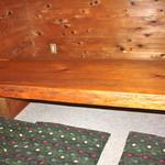 ガリバーハウス - 大きな木のテーブル