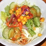 ガリバーハウス - セットのサラダ