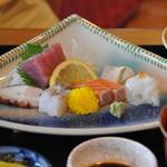平野鮮魚 - 刺身定食