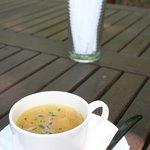 古民藝・参拾六番 森の中の古民家 ガーデンレストラン - スープ