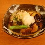 居酒屋 海 - 茄子の煮びたし。