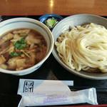 吾作屋手打ちそば・手打ちうどん - 肉汁うどん・中(850円)_2013-02-06