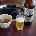 南大門 - ビールお通し~☆