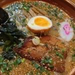 麺や 宝龍 - 胡麻ラーメン¥750