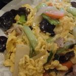 明華楼 - 木クラゲと玉子と豚肉炒め