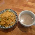 17184935 - サラダ、スープ