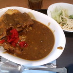 curry de CAFE UTSUWA - 日替わりカレーランチ 650円
