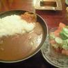 ソワール - 料理写真:カレーセット\700。サラダはトマトが多くておいしい