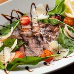 ピッツェリア ピッキ - タリアータ・ディ・マンゾ(食べよくカットしたイタリア版ステーキ)