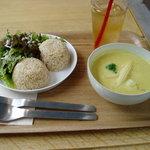 シンシアガーデンカフェ - 本日のカレー(タイ風スパイシーカレー)