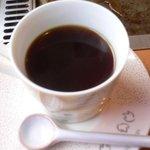 高森亭 - セットメニュー コーヒー