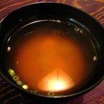 富士 - セットの味噌汁