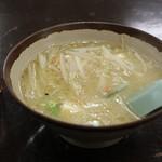 中華料理一番 - ミニ豚汁