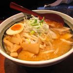 麺屋べろり - 「札幌味噌らーめん」 800円
