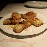 エルプルポ - ズワイ蟹のグラタントースト