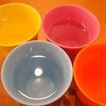 @ほぉ~むカフェ - お水のコップ