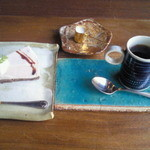 キッサコ  - ランチプレート(¥1260)のデザート