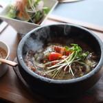 網焼 HANA - 料理写真:石焼チーズカレー