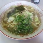 稲井食堂 - 料理写真:中華そば500円