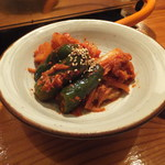石垣島の焼肉屋 - キムチ