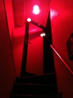 エーフラット - 上階へ続く階段です