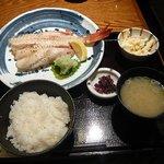 佐渡蔵 - 焼魚定食750円 キンキ