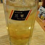 居酒屋 三平 - ウーロンハイ:390円