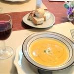エッコラ - 料理写真:ランチセットのスープ
